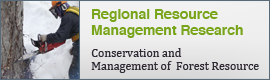 Regional Resource Management Research | Conservation and Management of  Forest Resource